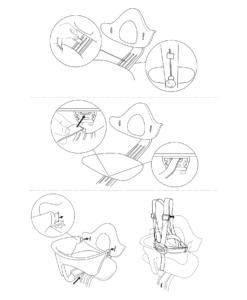 Установка ремней безопасности Nomi Harness на детский стульчик Evomove Nomi