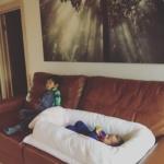 Кокон для детей Sleepyhead