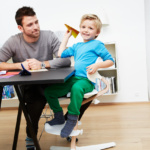 Детский стульчик трансформер Evomove Nomi