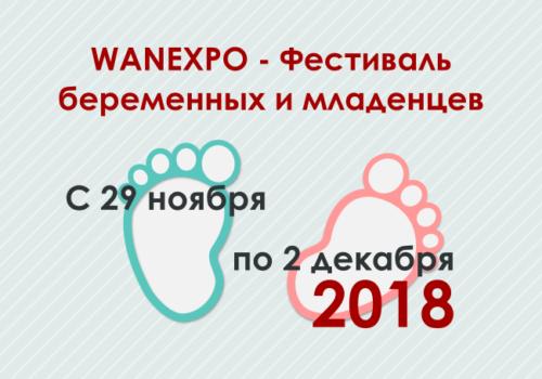 Фестиваль беременных и младенцев - ноябрь 2018